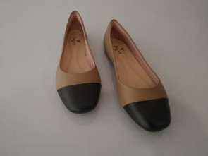 SAPATILHA - LIGHT TAN/PRETO